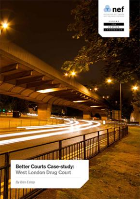 West London Drug Court case study cover