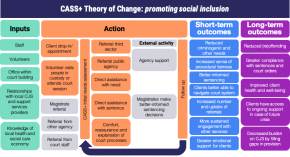 CASS theory of change graph